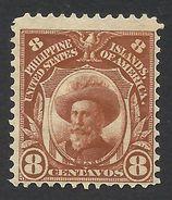 Philippines, 8 C. 1906, Sc # 244, Mi # 240, MH. - Philippines