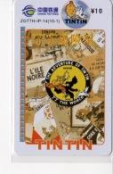 Télécartes Tintin - BD