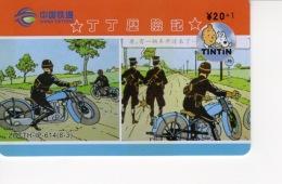 Télécartes Tintin - Les 7 Boules De Cristal - BD