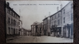 CPA BADONVILLER 54 PLACE DE L ASTRONOME MESSIER ED S C F - Francia
