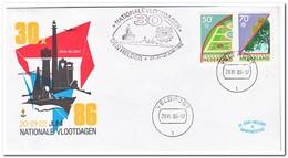 Nederland 1986, National Fleet Days Den Helder - Schiffahrt