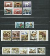 LOT - Animals & Fauna Yugoslavia - **MNH .Animals,Birds,Mammals,dogs,Fishes - Stamps