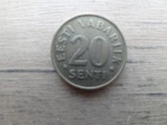 Estonie    20  Senti  1996  Km 23 - Estonia