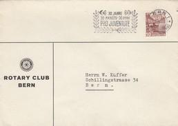 SUISSE. LETTRE. 5.12.36. ROTARY CLUB BERN - Schweiz