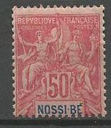 NOSSI-BE YVERT N° 37 NEUF* CHARNIERE TB  / MH - Nossi-Bé (1889-1901)