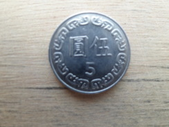 Taiwan  5  Yuan  1989  Y 552 - Taiwan