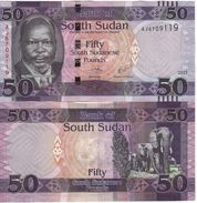 SOUTH SUDAN New 50 Pounds  (new Date 2017)  Pnew - Soudan Du Sud