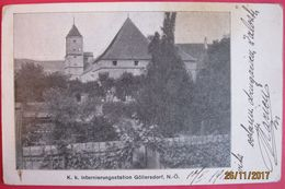 GOLLERSDORF - K.K. INTERNIERUNGSSTATION - Hollabrunn