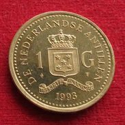 Netherlands Antilles 1 Gulden 1993 KM# 37  Antillen Antilhas Antille Antillas - Netherland Antilles