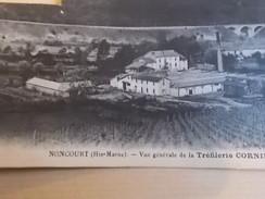 VOYAGEE 1928 NONCOURT VUE GENERALE TREFILERIE POINTERIE CORNIBERT DS L ETAT - France