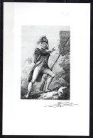 Atelier Du Graveur Lacaque -  Gravure Originale D'un Soldat Révolutionnaire Signé De L'artiste - Estampes & Gravures