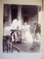 SINGAPORE SINGAPOUR 1899 LE COMTE DE MAUBEUGE ET SA FEMME FAMILLE ROYALE ASIE - Singapour
