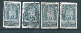 France Timbre De 1929/31 N°259  (les 4 Types)  Oblitérés - France
