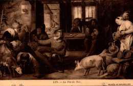 Peinture Et Tableau - Lys - La Fete Des Rois - Musée De Bruxelles  -  LL - R/V - Peintures & Tableaux