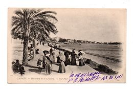 06 - CANNES . BOULEVARD DE LA CROISETTE - Réf. N°5694 - - Cannes