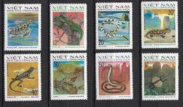 "Viet-Nord YT 875 à 882 "" Reptiles "" 1975 Neuf** - Vietnam"