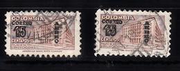 Colombia 1953 Mi Nr 653  Postkantoor In In Bogotá - Colombia