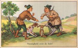 Chasse - Humour - Désaccord Sur Le Butin - Onenigheid Over De Buit - Hunting