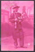 """Mineur - """"Vive Sainte-Barbe"""" - Circulé - Circulated - Gelaufen - 1931. - Mines"""