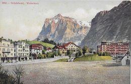 GRINDELWALD → Interessante Ansicht Der Hotels, Ca.1910 - BE Berne