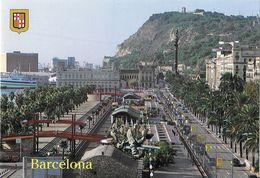BARCELONA - Paseo De Colon Y Moll De La Fusta - Barcelona
