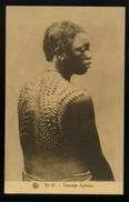 CPA - Afrique - Burkina Faso- Haute Volta - N° 61 - Tatouage Syamou - Burkina Faso