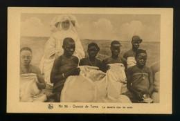 CPA - Afrique - Burkina Faso- Haute Volta - N° 56 - Ouvroir De Toma La Dentelle Chez Les Noirs - Burkina Faso