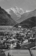 INTERLAKEN → Generalansicht, Lichtdruck Ca.1920 - BE Bern