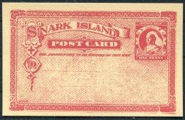 Gerald King Cinderella Snark Island  Queen Victoria Stationery Card - Cinderellas