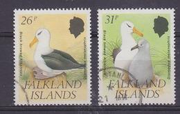 Falkland Islands 1990 Black Browed Albatross 2v (26 & 31p) Used (37152) - Falklandeilanden