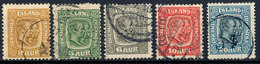 Stamps Iceland 1907 Used - 1873-1918 Danish Dependence