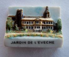 FEVE PUBLICITAIRE PERSO - P QUINTON LISIEUX 14 - JARDIN DE L'ARCHEVECHE - Oude