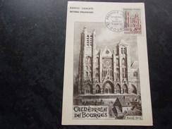 FRANCE (1965) Cathédrale De BOURGES - Cartas Máxima