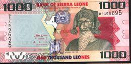 SIERRA LEONE : 1000 Leones - 2010  - UNC - Sierra Leone