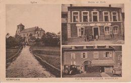 57 - KEMPLICH - 3 VUES - CAFE RESTAURANT KELLER-BOISSELET - Autres Communes