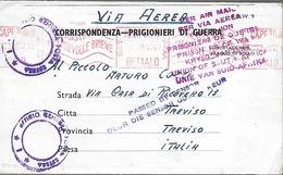 Ww2 Prigionieri Di Guerra - Blocco 10 Campo 37 Servizio Ospedale -  Dal Sud Africa - Zonderwater - Per Treviso - Prigione E Prigionieri