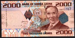 SIERRA LEONE : 2000 Leones - 2010  - UNC - Sierra Leone
