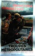 Reproduction Affiches 39 - 45 : Engagez - Vous Rengagez - Vous Dans Les Troupes Métropolitaines  1938 - Documents