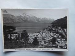Nieuw Zeeland New Zealand Queenstown Walter Peak And Lake Wakatipu - Nieuw-Zeeland