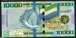 SIERRA LEONE : 10000 Leones - 2010  - UNC - Sierra Leone