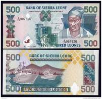 SIERRA LEONE : Banconota 500 Leones - 1995 - FDS - Sierra Leone