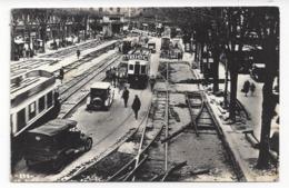 8  - Toulouse  -  Tramways  -  Travaux De Voie (1931), Station Place Esquirol - Toulouse