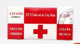 0,90 EUROS- 150 Ans Dr La CROIX ROUGE - 2013 - P17 - 2011-... Usati