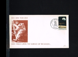 1969 - USA Cover - Space - United States - Apollo 11 - Man Walks Upon The Surface Of The Moon [FP078] - Verenigde Staten