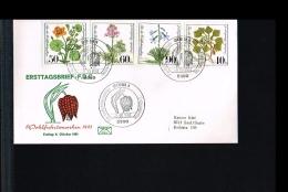 1981 - Germany FDC Mi. 1108-1111 - Flora - Flowers - Wohlfahrt [FW036] - FDC: Brieven