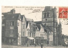 80 // MONTDIDIER    Maison Du XVI E Et L'église St Sépulcre  ** - Montdidier