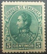 Venezuela 1899 MH Effigy Of General Simon Bolivar - Venezuela