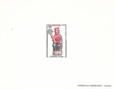 Andorra Francesa Nº 237 Al 238 En Pruebas - Unused Stamps