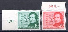 DDR MiNr 541 Bis 542 Postfrisch (15981) - [6] Democratic Republic