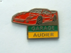 PIN'S FERRARI - GARAGE AUDIER - Ferrari